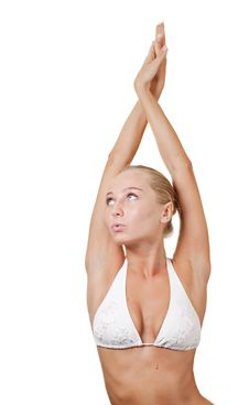 Free Blonde Girl Royalty Free Stock Image - 15216056