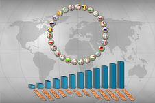 European Union Statistics Stock Photo