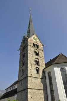Free Parish Church Of Stans, Switzerland Stock Photos - 15216793