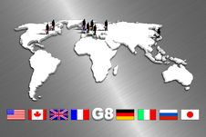 Free G8 Countries Royalty Free Stock Photos - 15216798
