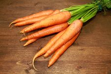 Free Fresh Carrots Royalty Free Stock Photos - 15216838