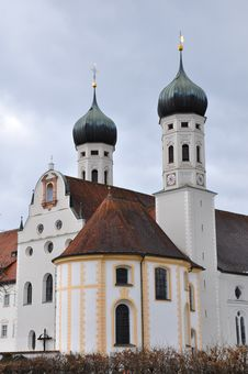 Free Collegiate Church Of Benediktbeuern Stock Photography - 15217032