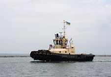 Free Tugboat At Port Stock Images - 15217554