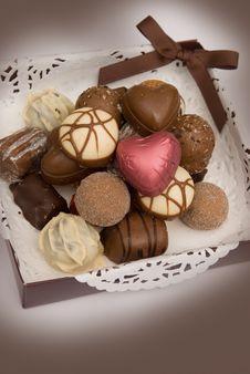Free Box Of Chocolates Royalty Free Stock Photos - 15217668
