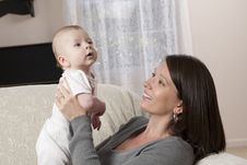 Free Mother And Baby Stock Image - 15217801