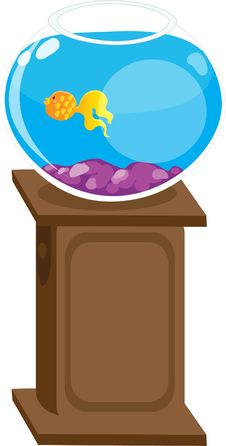 Free Fish Bowl Aquarium Stock Photography - 15218952