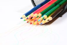 Free Colored Pencil Stock Photography - 15219122