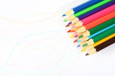 Free Colored Pencil Stock Images - 15219134