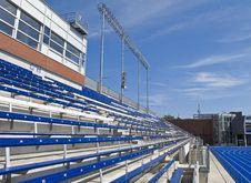 Stadium Seating Royalty Free Stock Photography
