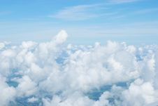 Free Airplane View Royalty Free Stock Photography - 15219677