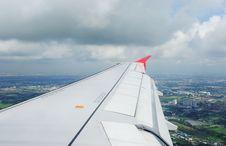 Free Airplane View Royalty Free Stock Photos - 15219808