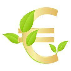 Free Gold Euro Royalty Free Stock Image - 15219836