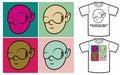 Free Cartoon Face In Pop-art Style Stock Image - 15229331