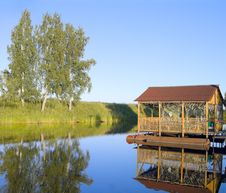 Free Arbour On Pontoons Stock Photography - 15220702