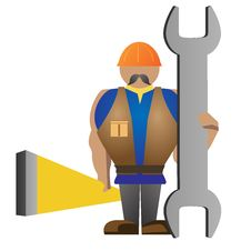 Free Worker Illustration Stock Photography - 15220872
