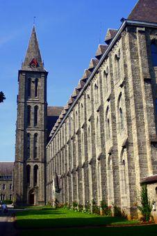 Old Belgium Church Stock Images