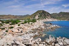 Free Punta Molentis, Villasimius, Sardinia, Italy Royalty Free Stock Images - 15222549
