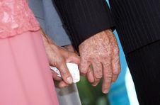 Free Senior Couple S Hands Royalty Free Stock Photo - 15223415