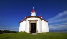 Small Chapel At Sanzieni Stock Image