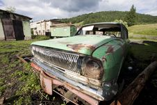 Free Old Car Wreck Stock Photos - 15223673