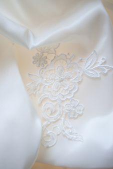 Free Wedding Dress Detail Royalty Free Stock Image - 15223706
