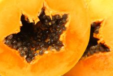 Free Papaya Slices Stock Photo - 15223970