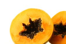 Free Papaya Slices Royalty Free Stock Photography - 15223997