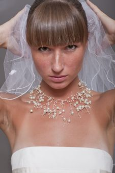 Free Young Bride In Profile Stock Photos - 15224443