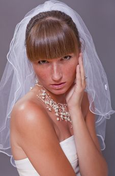 Free Worried Bride Royalty Free Stock Images - 15224519