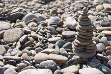 Free Zen Stone Pyramid Stock Photography - 15224832