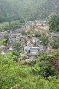 Free Chinese Ancient Village Stock Photo - 15225380