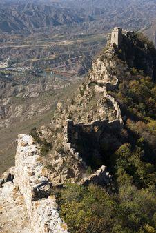 Free Great Wall Of China Simatai Royalty Free Stock Photos - 15225768