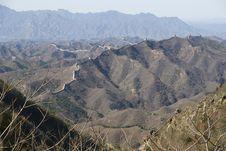 Free Great Wall Of China Simatai Royalty Free Stock Photo - 15225865