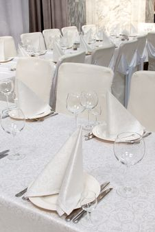 Free Banquet Table Stock Photos - 15226383
