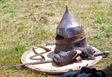 Free Helmet, Shield And Sword Stock Photos - 15227353