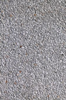 Free White Gravelly  And Concrete Wall Render Stock Images - 15227464