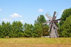 Free Traditional Windmill Royalty Free Stock Images - 15227479