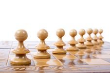 Free Chess Figures Royalty Free Stock Photos - 15227538