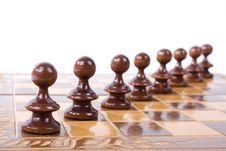 Free Black Chess Figures Stock Photo - 15227550