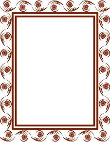 Free Floral Frame Stock Image - 15227681