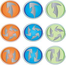 Free Arrow Icons Stock Image - 15228981