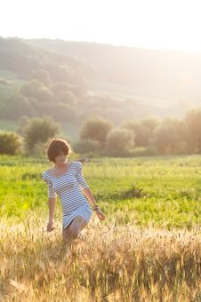 Free Young Happy Woman Stock Photo - 15229600