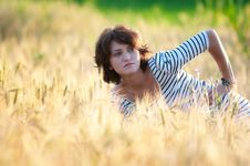 Free Young Happy Woman Stock Photo - 15229610