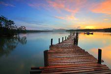 Free Superb Sunset Royalty Free Stock Image - 152298476