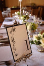 Free Dining Table Decorated Royalty Free Stock Image - 15230086