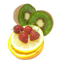Free Tropical Fruit And Strawberry Royalty Free Stock Photography - 15235377