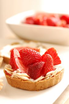 Free Tartelettes With Strawberries Royalty Free Stock Photo - 15230295