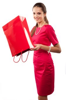 Free Woman Shopper Stock Photos - 15230453