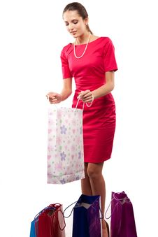 Free Woman Shopper Stock Images - 15230504
