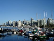 Free Harbour View In Vancouver Royalty Free Stock Photos - 15231248